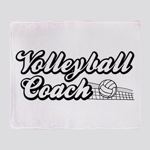 VOLLEYBALL COACH Throw Blanket