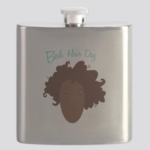 Bad Hair Day Flask