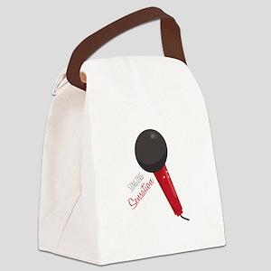 Singing Sensation Canvas Lunch Bag