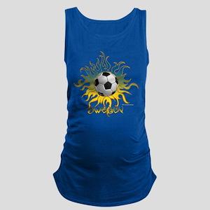Soccer Tribal Sun Tank Top