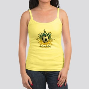 Soccer Tribal Sun Tank Top