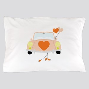 Just Married Pillow Case