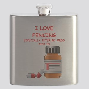 i love fencing Flask