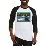 Sailboats & Newfoundland Baseball Jersey