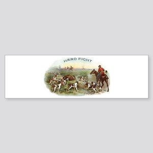 Vintage Boar Hunt Sticker (Bumper)