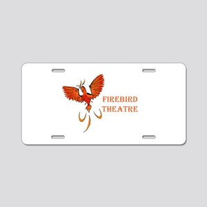Colorful Logo Side Text Aluminum License Plate