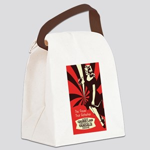 The Pause that refreshes Canvas Lunch Bag