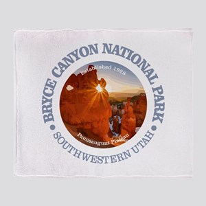 Bryce Canyon NP Throw Blanket