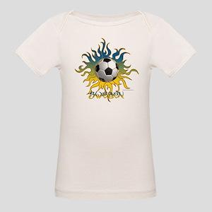 Soccer Tribal Sun Baby Organic T-Shirt