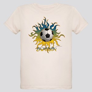 Soccer Tribal Sun Organic Kids T-Shirt