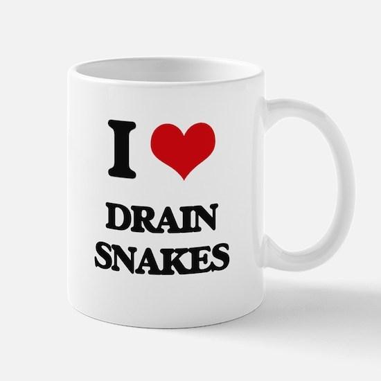 I Love Drain Snakes Mugs