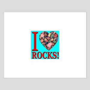 I Love Rocks! Small Poster
