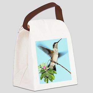Hummingbird Canvas Lunch Bag