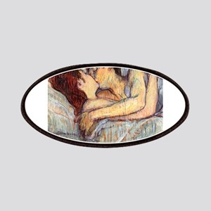 In Bed the Kiss by Toulouse-Lautrec Patches