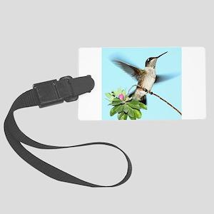 Hummingbird Large Luggage Tag