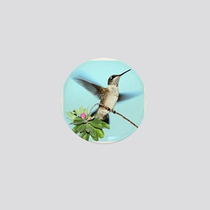 Hummingbird Mini Button