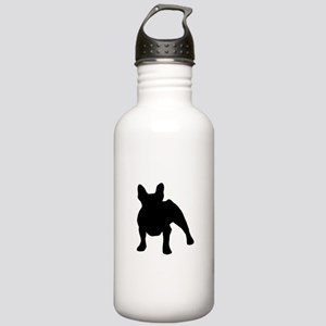 French Bulldog Shadow Stainless Water Bottle 1.0L