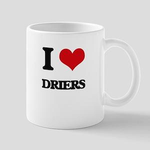 I Love Driers Mugs