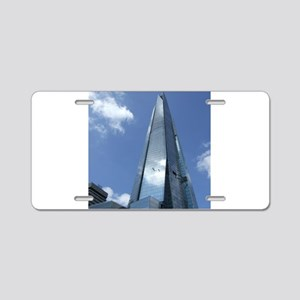 The Shard London skyscraper Aluminum License Plate