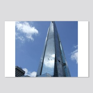 The Shard London skyscraper Postcards (Package of