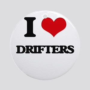 I Love Drifters Ornament (Round)