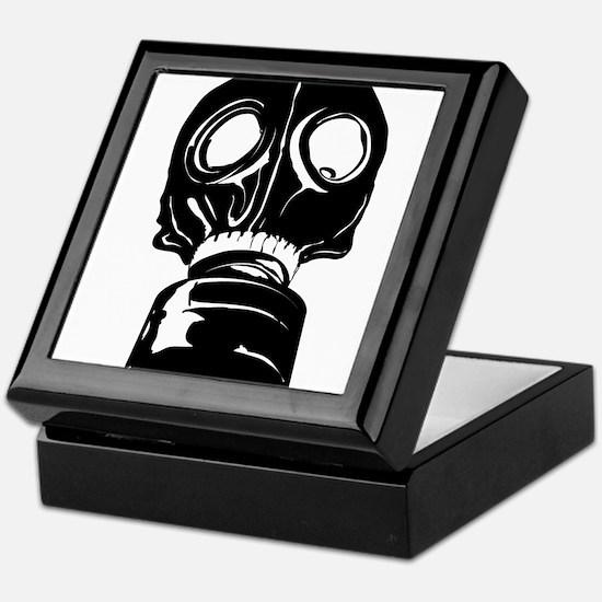 Gas Mask Keepsake Box
