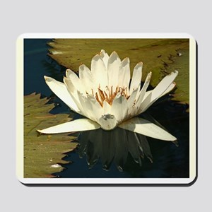 White Water Lily Mousepad