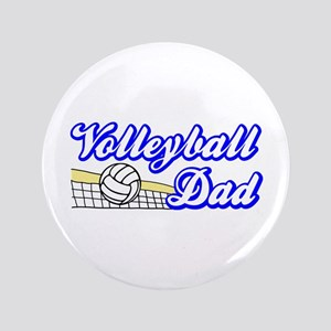 "VOLLEYBALL DAD 3.5"" Button"