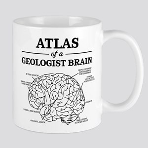 Atlas of a Geologist Brain 11 oz Ceramic Mug