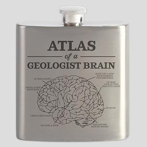 Atlas of a Geologist Brain Flask