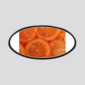 Candied Oranges macro food photography Patches