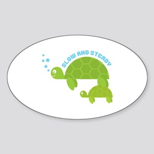 Slow and Steady Sticker