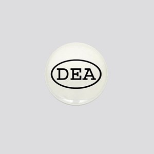 DEA Oval Mini Button