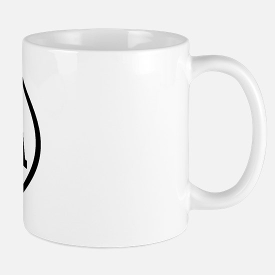 DEA Oval Mug