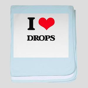 I Love Drops baby blanket