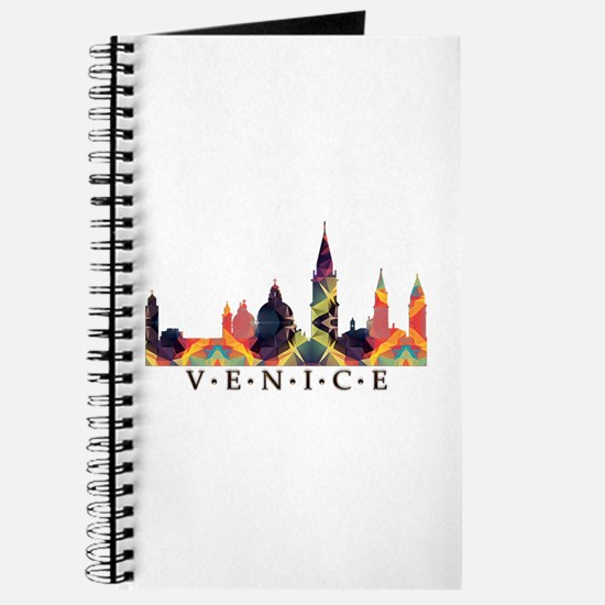 Mosaic Skyline of Venice Italy Journal