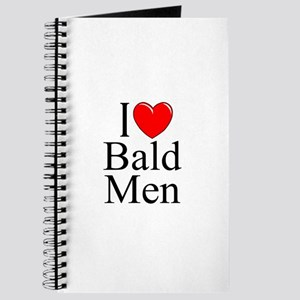 """I Love (Heart) Bald Men"" Journal"