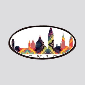 Mosaic Skyline of Venice Italy Patches