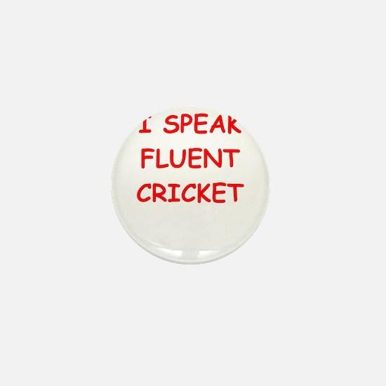 i love cricket Mini Button