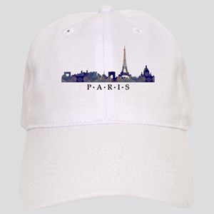 Mosaic Skyline of Paris France Cap