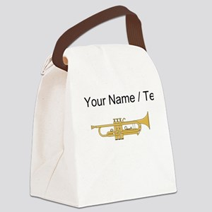 Custom Trumpet Canvas Lunch Bag