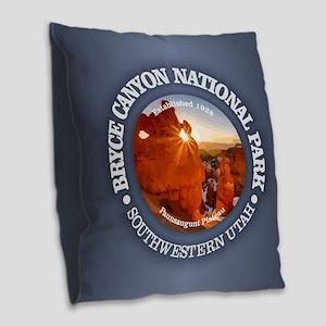 Bryce Canyon NP Burlap Throw Pillow