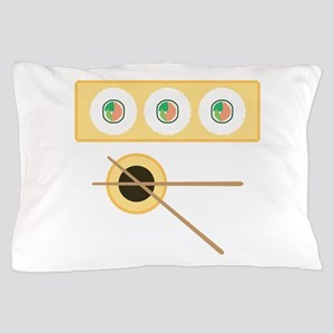 Sushi Soy Sauce Pillow Case