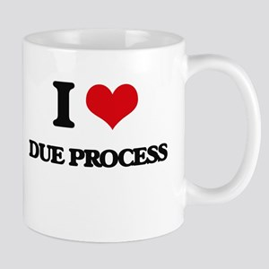 I Love Due Process Mugs