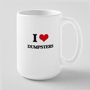 I Love Dumpsters Mugs