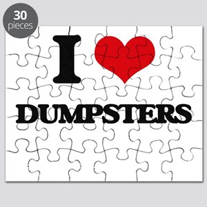 I Love Dumpsters Puzzle