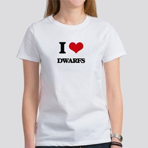 I Love Dwarfs T-Shirt