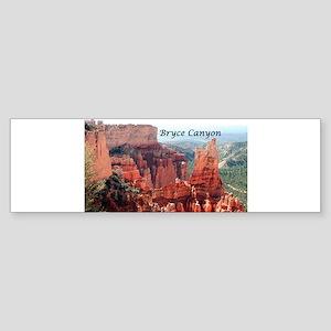 Bryce Canyon, Utah, USA 5 (caption) Bumper Sticker