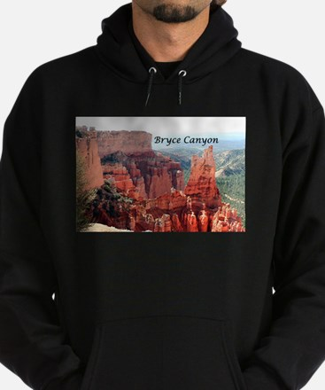 Bryce Canyon, Utah, USA 5 (caption) Hoodie (dark)