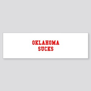 Oklahoma Sucks Bumper Sticker